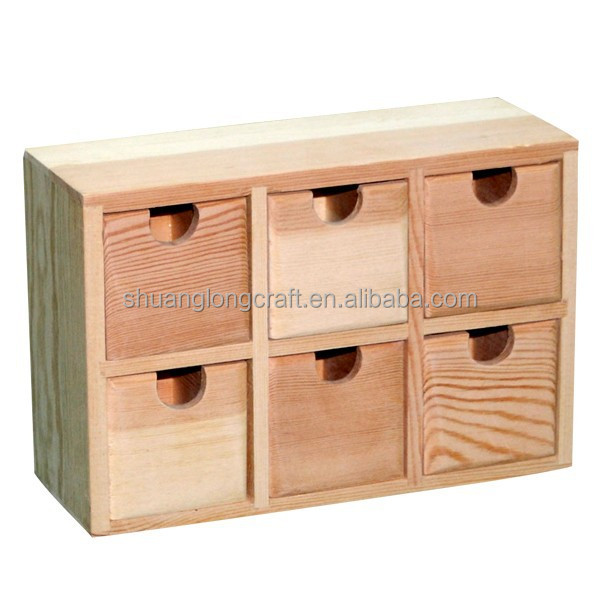 List manufacturers of unfinished wood drawers buy for Unfinished wooden boxes for crafts