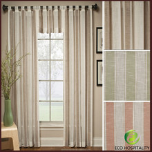 Luxury Hotel 100% Polyester Sheer Curtain