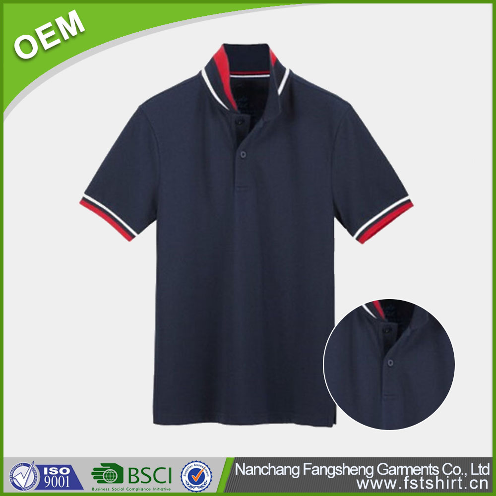 OEM dri fit kid's short sleeve 100% polyester polo shirt