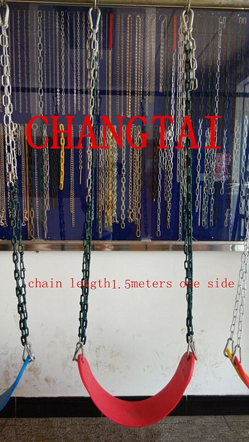swing chain ,pvc dropped coating for handle,304# stainless steel