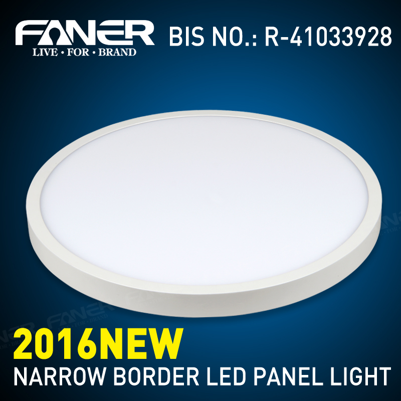 surface mounted round led ceiling light panel 48w panel led with CE SASO BIS surface ceiling panel lighting