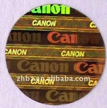 2012 popular 3D hologram laser label