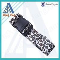 Promotional customized logo djustable travel luggage strap
