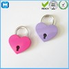 Low Cost Heart Shaped Collar Padlock Love Lock