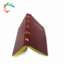 2018 Cheap Wholesale High Quality Custom Printing Leather Cover Holy Bible <strong>Book</strong>