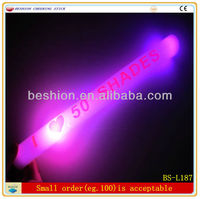 2013 promotional led party foam sticks