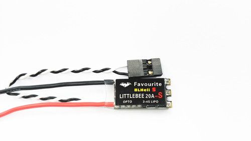 Favourite FVT LittleBee 20A-S quadcopter ESC 20a BLHeli_S for flying camera drone copter