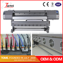 China cheap 1.8m wide format inkjet printer / eco solvent printer dx5