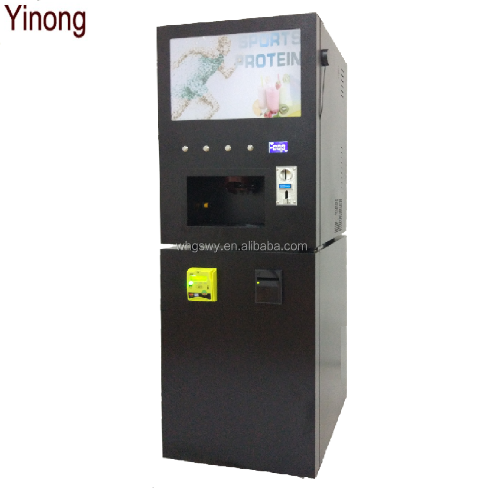 OEM Self-Service Cold Protein Shake Machine With Nayax Card Reader