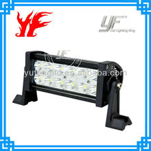 Factory direct sell ip68 waterproof 36W led light bar racing car utv offroad 4x4 accessories