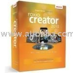 Roxio Creator 2010 software with 3D glasses