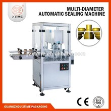 Automatic plastic bottle cap sealing machine, concentrated juice plastic bottle cap sealing machine