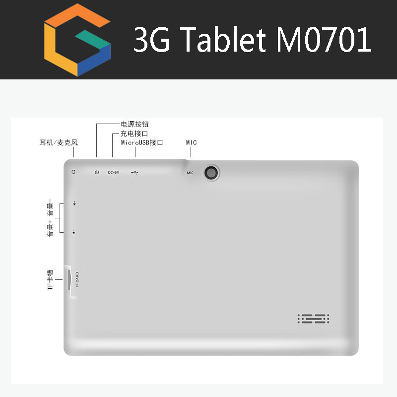 "Cheap factory OEM 3G phone 7"" tablet computers with flashlight android 5.1 tablet 4g"