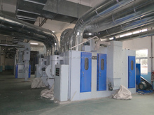 Textile Dust collecting machine install pipes