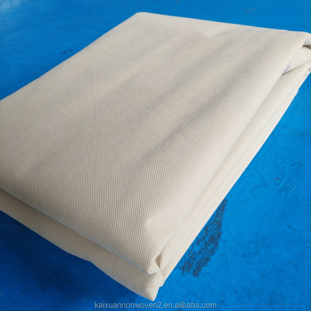 low price 80g beige agriculture PP spunbond nonwoven fabric frost and pest protection biodegradable fruit bag tree cover