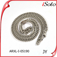 different necklace types for men thick silver necklace chain