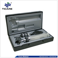 Professional Fiber Ophthalmoscope &Otoscope Set