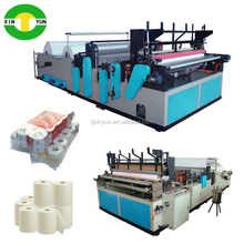 jumboo roll for converting and printing toilet paper roll machine