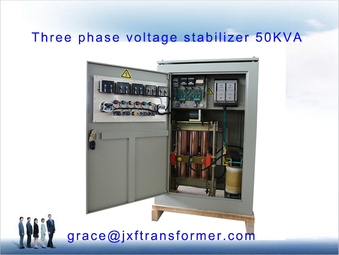 SVC 50KVA Three Phase Voltage Stabilizer 400V 440V 230V