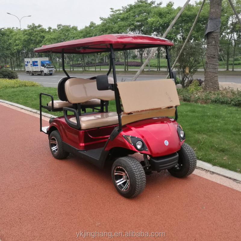 4 seater electric mini golf cart with electric power for sale