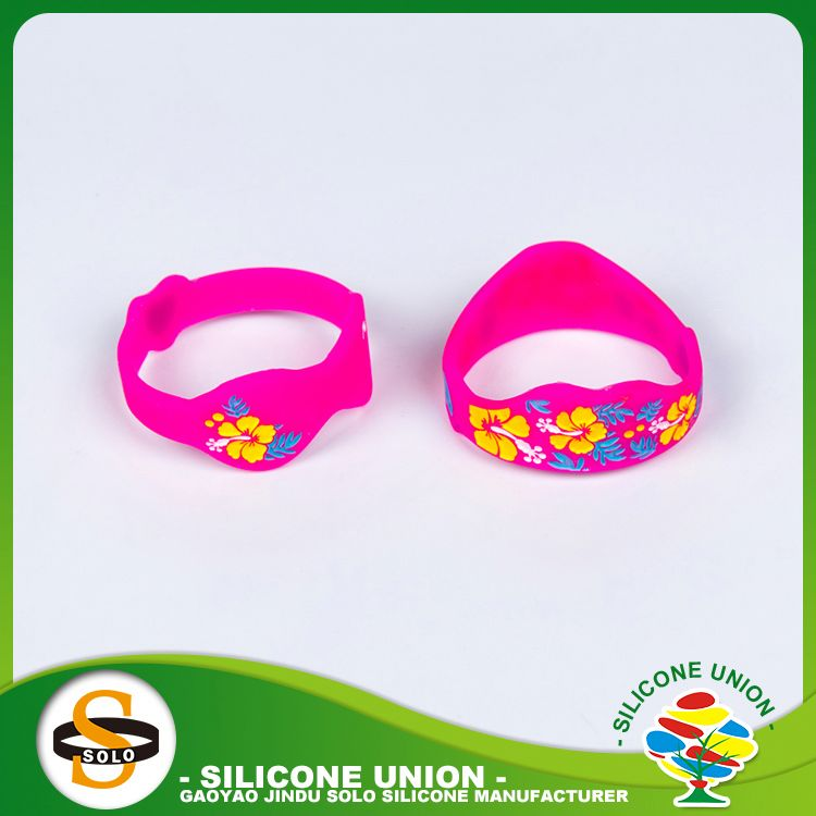 health care energy silicone bracelet silicone bracelet and segmented color