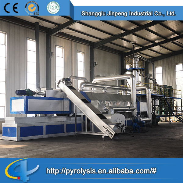 Hot Sale Top Quality Best Price Continuous Waste Tire Plastic to Oil Pyrolisis Plant