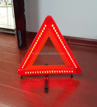 Folding LED Traffic Warning flash Triangle