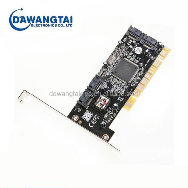 4PORT SATA PCI CONTROLLER RAID CARD