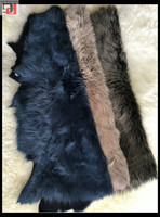 HIGH QUALITY FACTORY DIRECT WHOLESALE PRICE DOUBLE FACE LAMB LEATHER FUR SPANISH TOSCANAS FOR JACKET WITH FUR HOOD