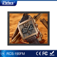 Rcstars 19 inch bus digital signage pop display, lcd monitor panel, bus electronic display flat screen tv(RCS-190FM)