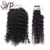 Buy Indian Jerry Curl Weave Remy Hair Extensions Mink Bundles Wholesale