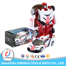 Funny aolly trans-robot diecast model car kits metal toys