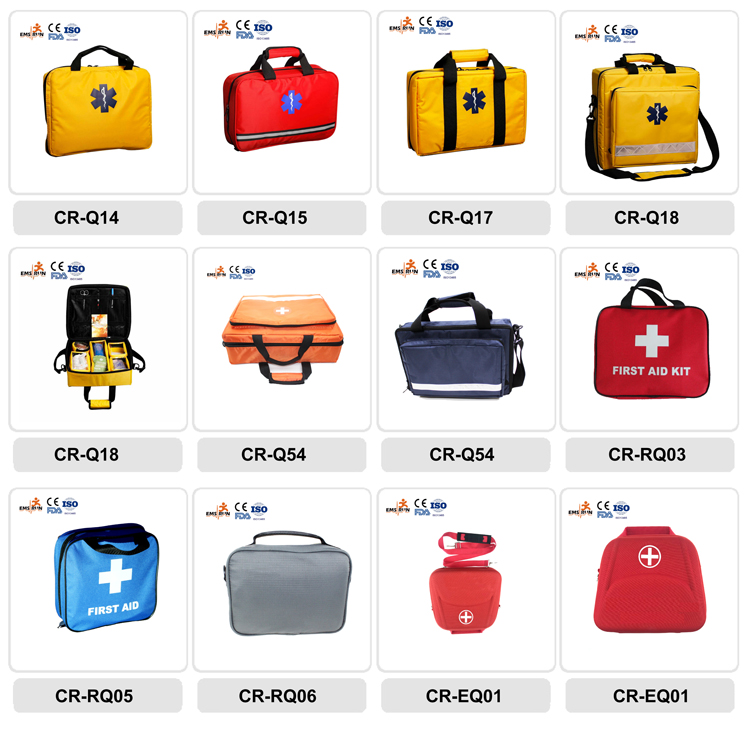 2018 China supplier wholesale private label first aid kit/school first aid kit/outdoor first aid kit