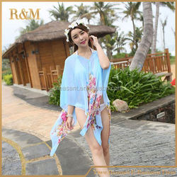 2016 New Floral Design waterproof bag for swimsuit