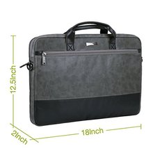High quality Fashion leather Bags, Protective Sleeve Briefcase Handbag Bag for 12.9-13.3 Inch Laptop, Notebook, MacBook