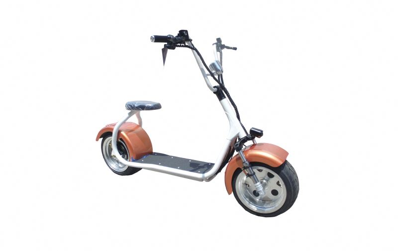2017 factory citycoco heavy tire 1200w 2 wheels balancing scooter with CE/ROHS