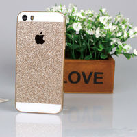 For Apple iPhone 4/5/6/6 plus Bling Glitter PC Hard Mobile Phone Case