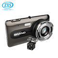 Double Lens 4.0 Inch Front Full Hd 1080P Adas Car Dvr