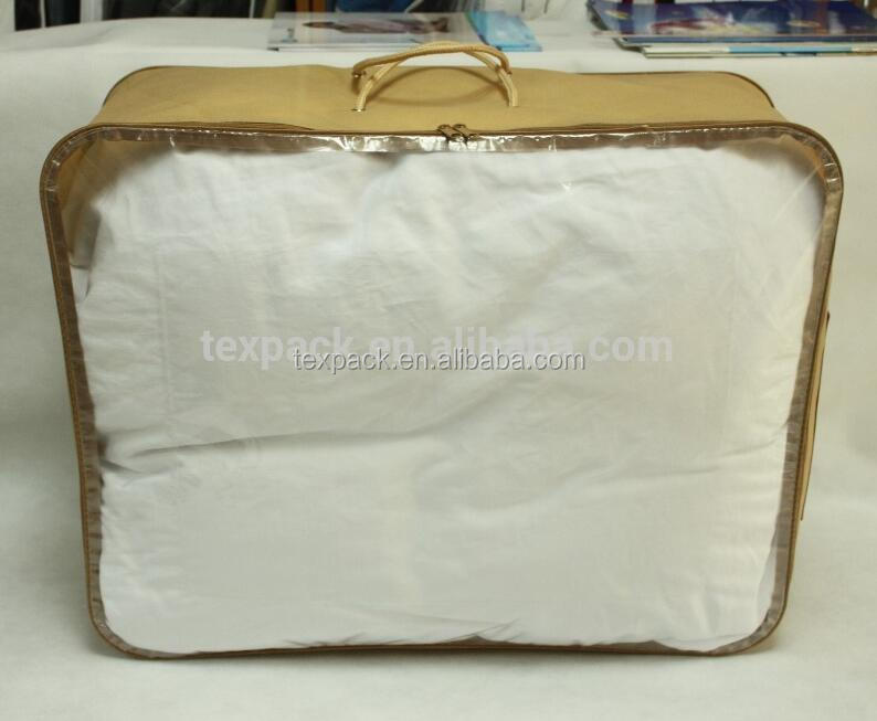 Cambodia factory customized non woven Home textile packaging bags