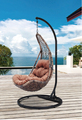 Indoor or outdoor rattan furniture leisure combination swing hanging chair (Y9085KD)