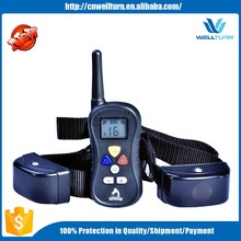2016 China Waterproof Remote Training E-collar Dog Shock Collar For Humans Dog Slave Shock Collar Electric Dog Collar PTS008
