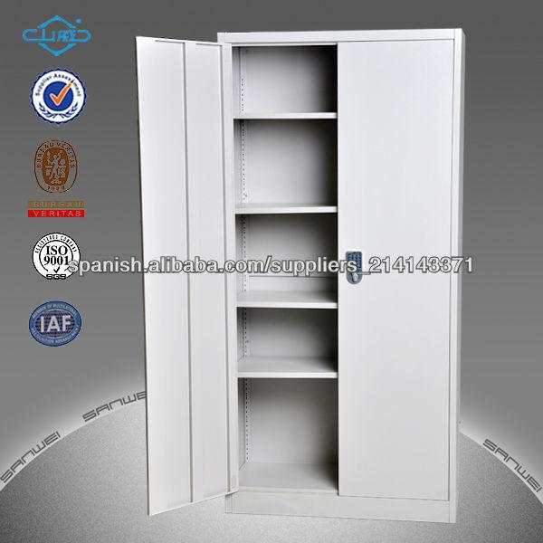 2 puertas color gris met lico mueble archivador oficina for Mueble archivador oficina