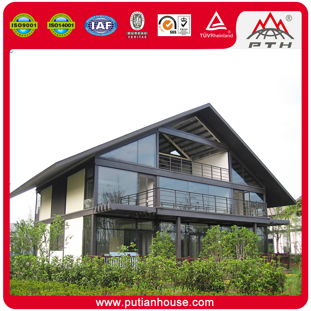 iso 9001 certificatedprefabricated home high end mobile villa