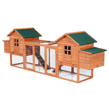 China supplier large size Chicken Coop wooden Hen house with Pitch Roof