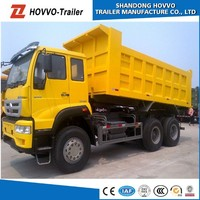 China Transportation Vehicle Price SINOTRUK HOWO 336HP 6x4 Dump Trucks Tipper Truck with 3 Axles