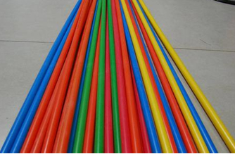 Bright color 40mm/33mm HDPE silicore duct