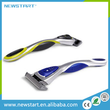 Portable six blades stainless steel no disposable shaving razor