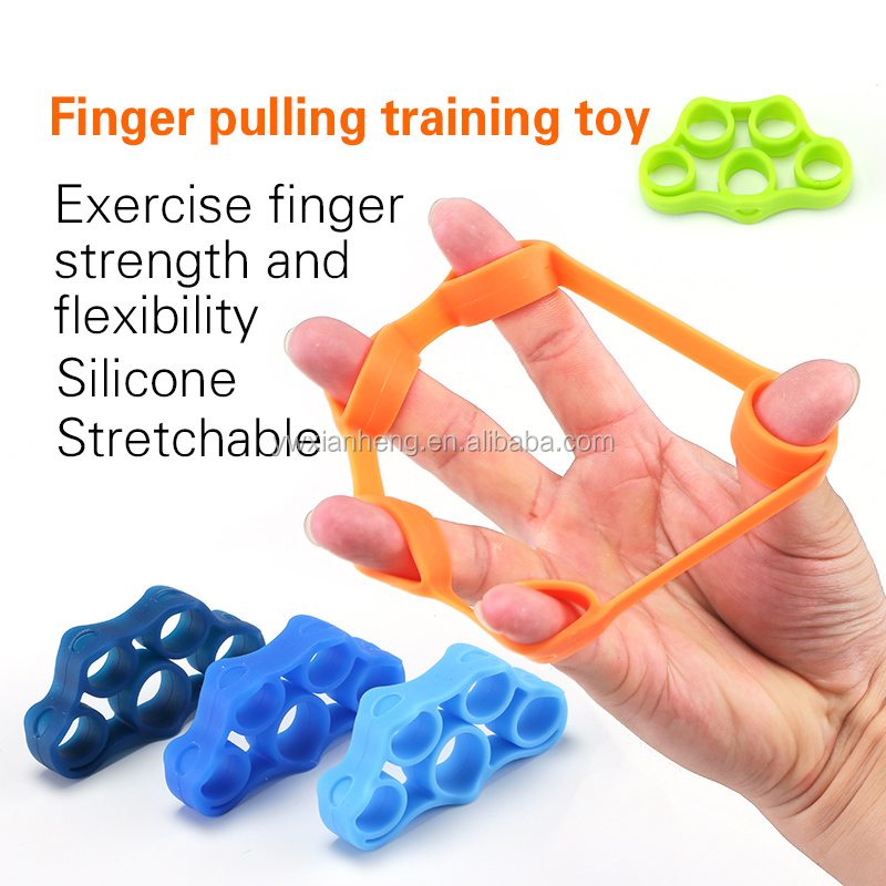 2017 Exercise finger strength and flexibility silicone Manufacturer sales Finger spring exerciser