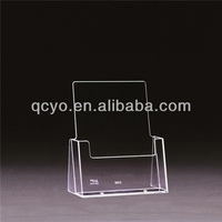 transparent acrylic pvc brochure holder