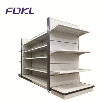 Customized wholesale supermarket steel display store shelves